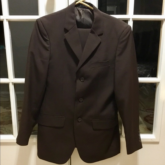 84743b3663b7 Vitto Suits & Blazers | Mens Dark Brown Suit 34rw28 | Poshmark